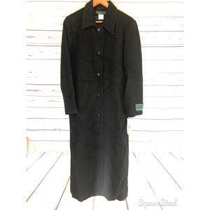 Harve Bernard Wool and Alpca trench coat